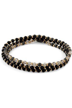 M. Cohen Armband/ Kette für Herren von in undSchwarz.Das Schmuckstück kann entweder mehrfach gebunden als Armbandoder als Kette getragen.... Mehr Details bei Lodenfrey.com