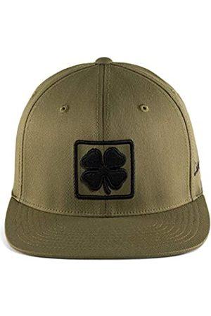 Black Clover Herren Caps - Lucky Square Flat Snapback Cap Olive