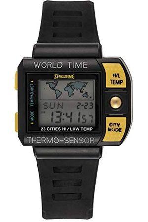 Spalding Herren Uhren - HerrenDigitalUhrmitPlastikArmbandSP00004