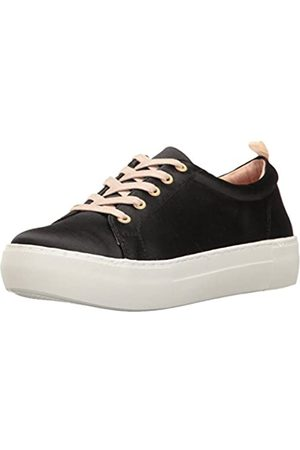 JSLIDES Women's Amberr Fashion Sneaker, Black