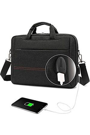 Meritte Laptop- & Aktentaschen - Laptoptasche, 38,1 cm (15,6 Zoll), passend für Laptops bis zu 15,6 Zoll (39,6 cm), wasserabweisend, Laptoptasche, Umhängetasche