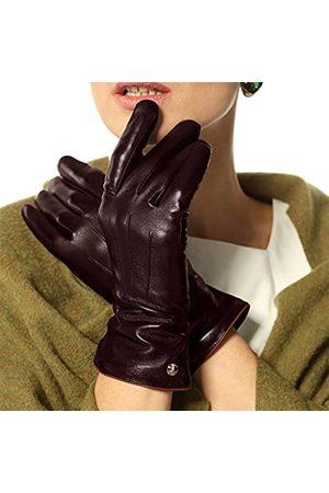 ELMA Damen-Handschuhe, klassisch, mit Touchscreen und Textur, Winter, warm
