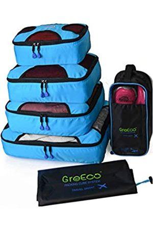 GreEco 4 x Packwürfel plus 1 x Wäschesack und 1 x Schuhbeutel. - 704342115674