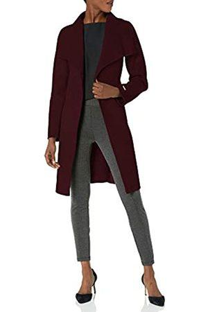 ELIE TAHARI Damen Double face wool wrap coat with optional self tie belt Wollmantel