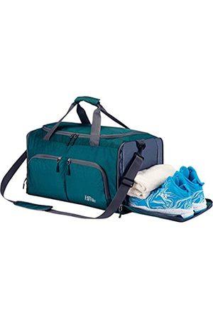 FANCYOUT Sport Turnbeutel mit Schuhfach & Nasstasche Reisetasche Seesack für Damen und Herren