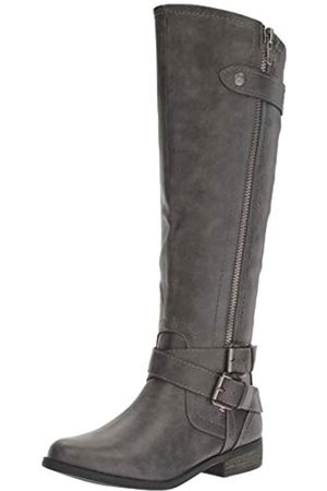 Rampage Damen Hansel Zipper and Buckle Knee-High Riding Kniehoher Stiefel