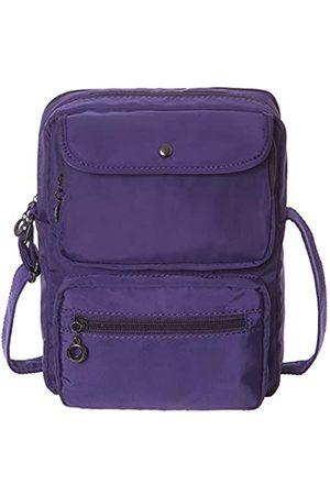 HAIDEXI Damen Umhängetaschen - Umhängetasche für Damen, RFID-Blockierung, mehrere Taschen, Nylon, Schultertasche, Reisetasche mit Kreditkartenfächern