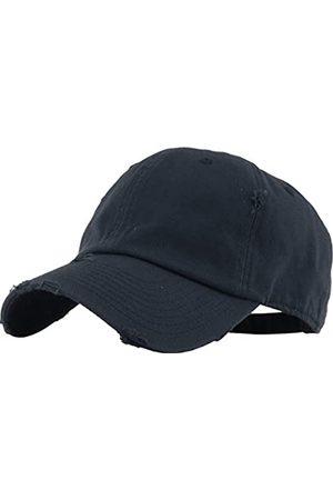 KBETHOS Herren Caps - Vintage gewaschen Distressed Cotton Dad Hut Baseball Cap einstellbar Polo Trucker Unisex Style Headwear einstellbar