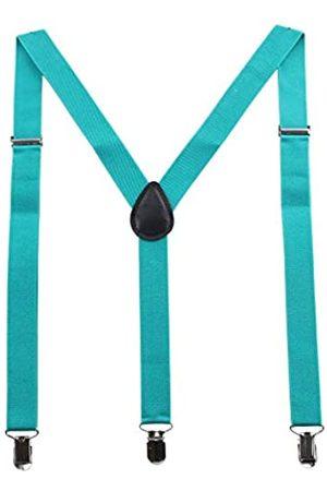 GUCHOL GHCHOL Hosenträger für Herren mit starken Metall-Clips, verstellbar, elastisch, Y-Stil, Leder