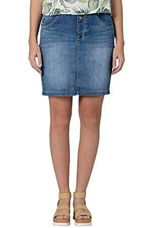 Timezone Damen Jeansröcke - Damen Denim Skirt Rock