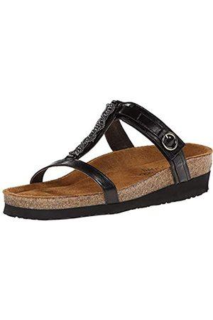 Naot Footwear Damen Malibu Quarz Leder Sandalen, (Schwarze Madras Lthr)