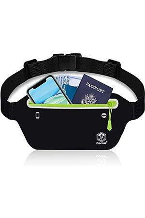 Dorras Bauchtasche, Laufgürtel – Handyhalterung für Damen und Herren – wasserabweisend, schlanke Hüfttasche, für Fitness, Workout, Laufen, Gürtel für alle Arten von iPhone, Samsung