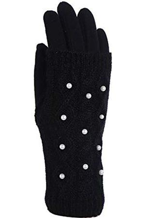 APPARELISM Damen Handschuhe - Stylischer Winterhandschuh für Damen mit 2-teiligem Strickbezug