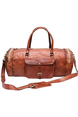 Generic Reisetaschen - AngelEye Creation Reisetasche aus Leder, klein, Handgepäck, für die Nacht, Fitnessstudio