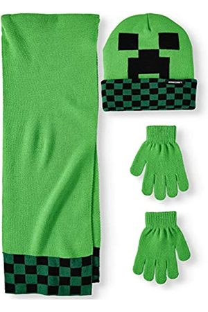 Bioworld Minecraft Set mit Schal, Mütze, Handschuhe