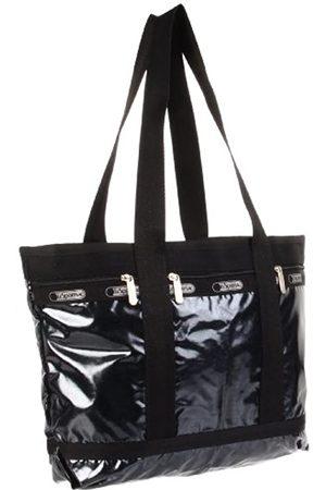 LeSportsac Damen Handtaschen - Medium Travel 7005GH Tragetasche, Grau (Schwarzer Opal)