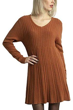 Apart Damen Freizeitkleider - APART stylishes Damen Kleid, Strickkleid, Kaschmir-Anteil, ausgestellter Rockpart, figurschmeichelndes Design