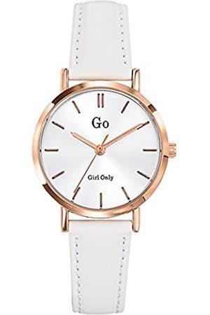 GO Girl Only Damen Uhren - Damen Analog Quarz Uhr mit Leder Armband 698933