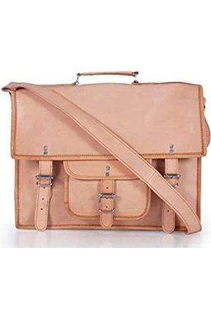 creative art & craft Herren Laptop- & Aktentaschen - 30,5 x 38,1 cm (12 x 15 Zoll) Laptop-Umhängetasche für Damen und Herren, Leder, für Laptop, Kuriertasche, Büro, Aktentasche