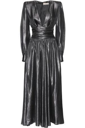 ALEXANDRE VAUTHIER Damen Maxikleider - Langes Kleid Aus Lamé-couture