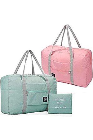 K Y KANGYUN Faltbare Reisetasche, wasserdicht, Reisetasche, für Damen und Herren, Segeltuch, für Wochenendausflüge