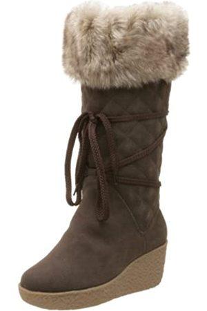 Deer Stags Damen Flirt Wedge Stiefel, Braun (dunkelbraun)
