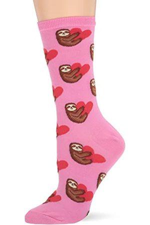 Hot Sox Damen Socken & Strümpfe - Sloth Love Pink Socken