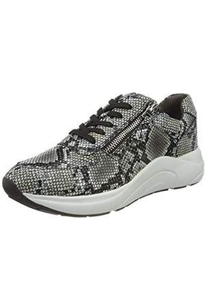 Caprice Damen 9-9-23705-25 Sneaker, Black/WHT SNAK