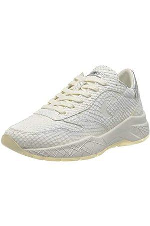 Crime london Damen KOMRAD Sneaker, White