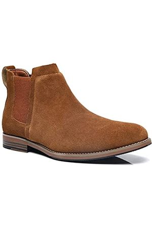 ANJOUFEMME Herren Chelsea Boots - Herren Wasserdicht Chelsea Boots Casual Wildleder Stiefel Schlupfstiefel Stiefeletten