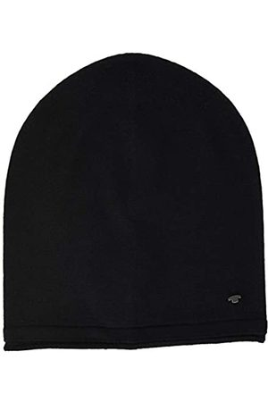 TOM TAILOR Herren Hüte - Herren Basic Beanie-Mütze, 29999-Black