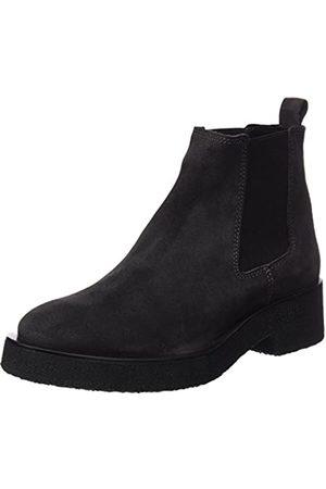 Mamatayoe Damen Lombardi Chelsea Boots, (Stahl Real Leder)
