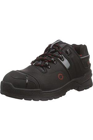 Sanita Geren Comfort, Workwear Unisex-Erwachsene, Basalt_S3 Lace Leather Shoe, Sicherheitsschuhe, (Black 2)