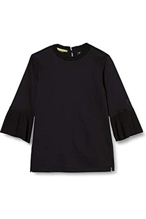Scotch&Soda Mädchen T-Shirts - R´Belle Girls 3/4 Sleeve Tee with Pleated Details T-Shirt