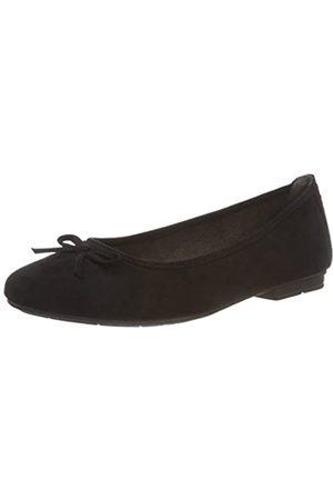 Soft Line Damen 22164-21 Geschlossene Ballerinas, (Black 001)