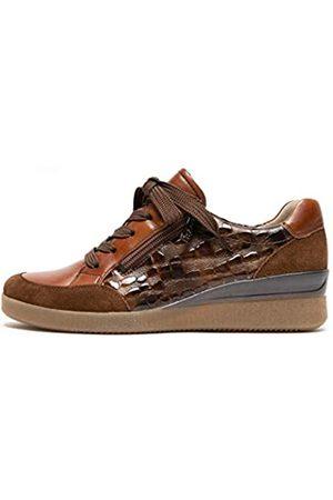 ARA Damen Lazio Sneaker, Setter,Cognac