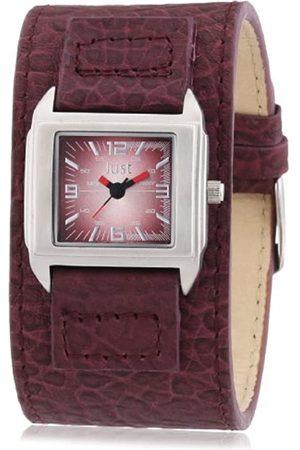 Just Watches Damen-Armbanduhr Analog Quarz Leder 48-S9258-RD