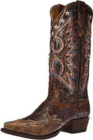 Stetson Damen Cowboy & Bikerboots - Women's Reagan Western Boot, brown