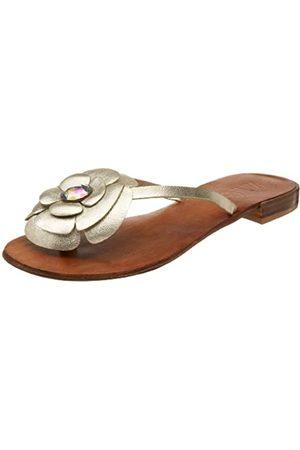 ZIGIny Damen-Sandalen mit Blütenblatt-Design