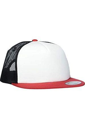 Flexfit Herren Caps - Uni Foam Trucker with White Front Cap