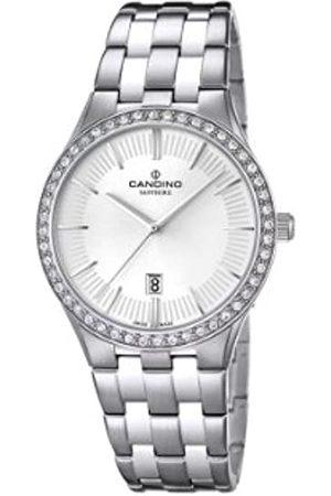 Candino Damen Uhren - Damen-Armbanduhr Analog Quarz Edelstahl C4544/1