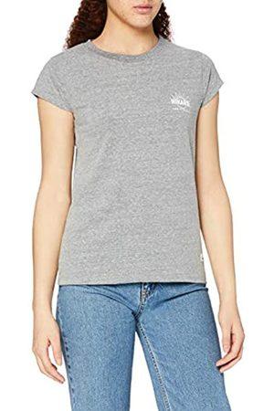 HIKARO Amazon-Marke: Damen T-Shirt mit rundem Ausschnitt, 34