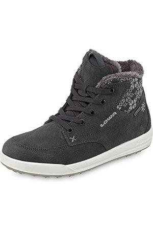 Lowa Damen Sneakers - Damen Mosca GTX Qc Ws Hohe Sneaker, (Graphit/Silber_Graphite/Silver)