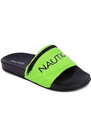 Nautica Damen Sandalen - Women's Athletic Slides, Sandals, with Front Zipper Pouch