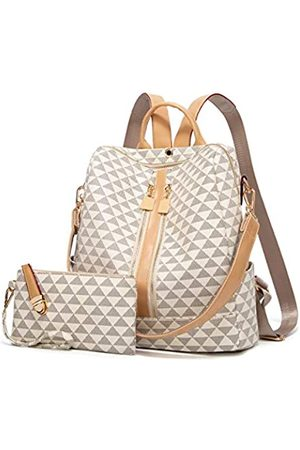 Makes Damen Rucksäcke - Rucksäcke für Frauen, modische Ledertaschen, Umhängetaschen, Anti-Diebstahl-Rucksack, Damen-Reisetaschen, Handtaschen und Geldbörsen