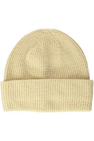 TOM TAILOR Damen RIPP Beanie-Mütze, 24406-warm Sand Melange