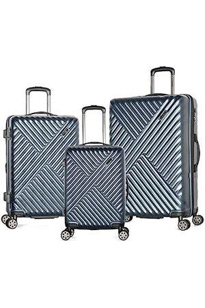 Olympia Luggage Matrix 3-teilig Exp. Hardcase Spinner Set W/verstecktes Fach
