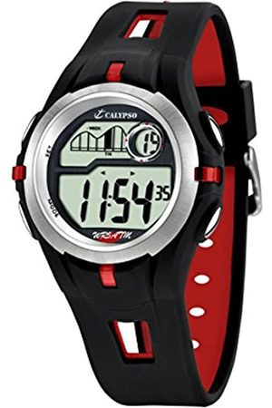 Calypso Unisex Digital Uhr mit Plastik Armband K5511/4