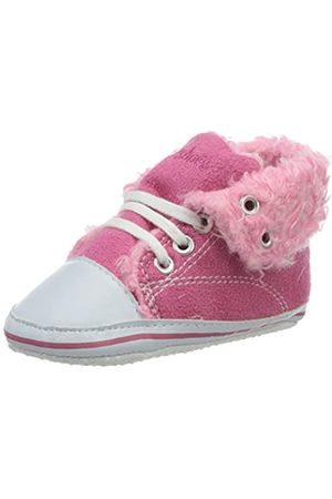 Playshoes Unisex-Kinder Baby Krabbelschuhe, Pink (pink 18)
