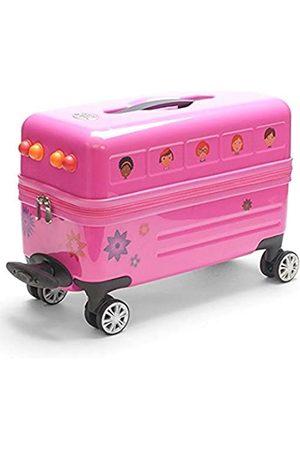 Trendykid Travel Buddies Reisebus mit rosa Blumenmotiv